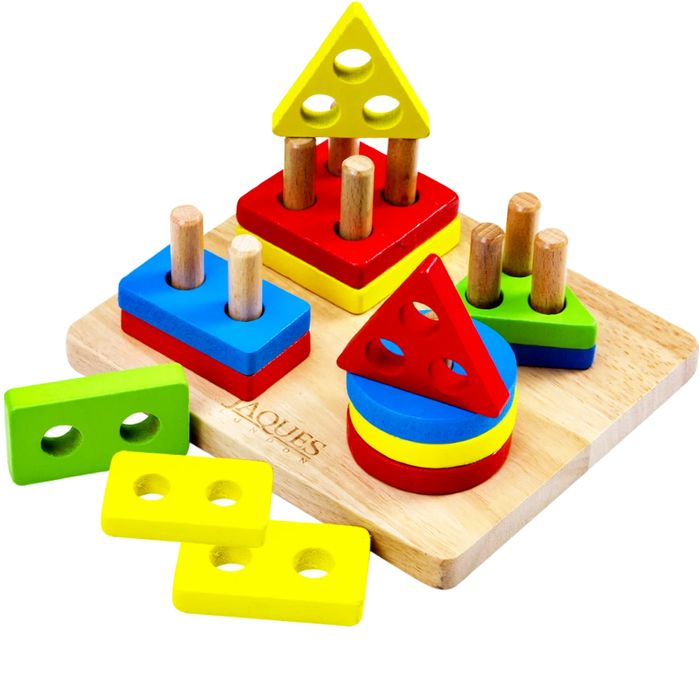 Stack and Learn Toy Wooden