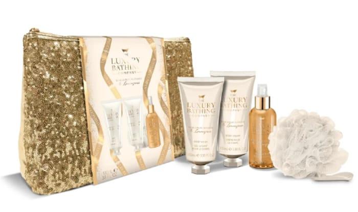 Luxury Bathing Company Fascination Sequin Bag