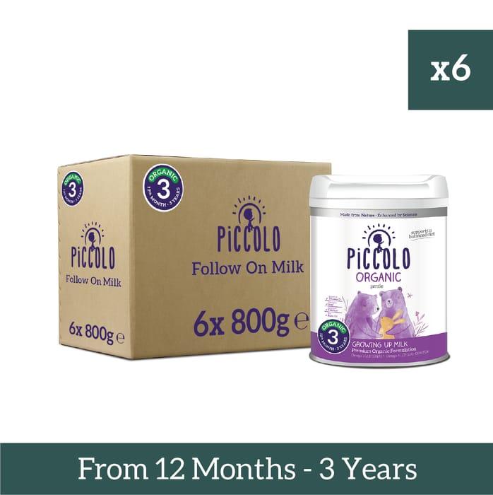 Save £15 & Free Delivery on Piccolo Formula Milk