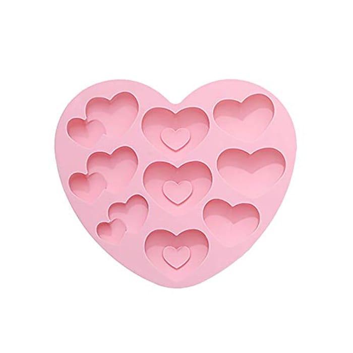 Diamond Heart Love Silicone Cake Mold