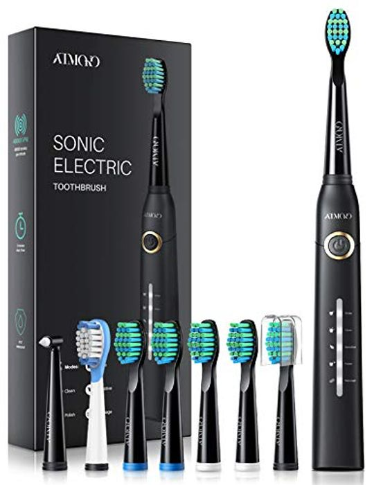 DEAL STACK - 43% off Sonic Toothbrush with 8 Dupont Heads