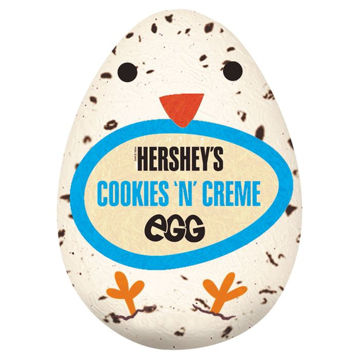 Hershey's Cookies and Creme Eggs 50p or 3 for a Quid