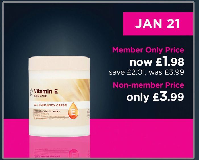 ONE DAY Members ONLY: Better Then 1/2 Price on Superdrug Vitamins E Products