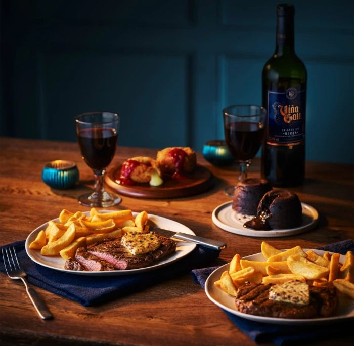 Co-Ops £15 Valentines Day Meal Deal