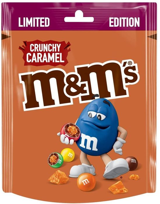 M&M's Crunchy Caramel Limited Edition Pouch