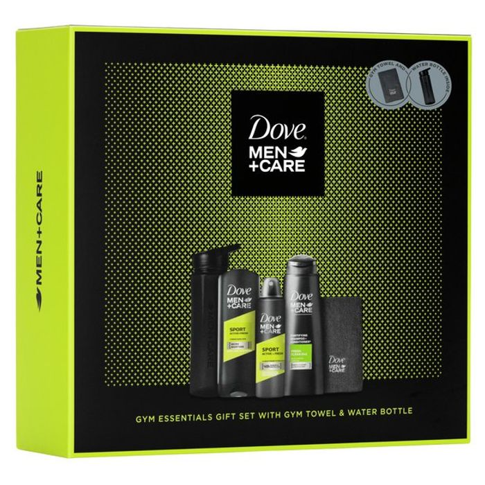 Dove Gym Essentials Gift Set
