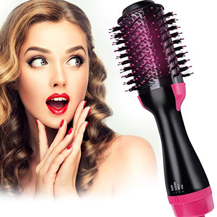 ATCRINICT Straightening Brush Salon and Curly Hair Comb - Only £9.99!