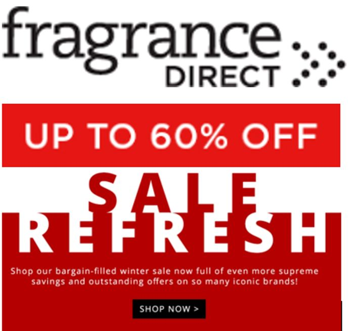 Fragrance Direct - Sale Refresh - up to 60% off Women's & Men's