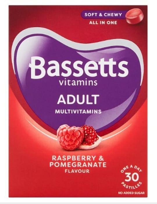 Star Buy! Bassetts Adult Multivitamins Pastilles - Now £2.99