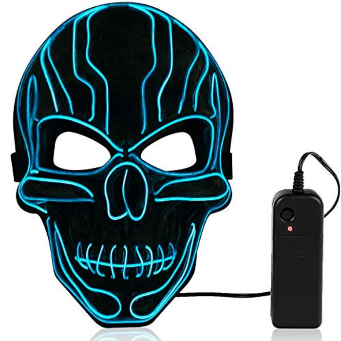 LED Light up Purge Mask - Only 4.20 with Code