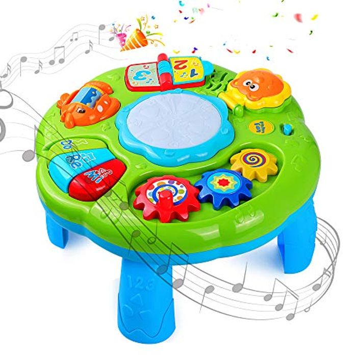 DEAL STACK - STOTOY Musical Learning Table for Toddlers + 8% Coupon