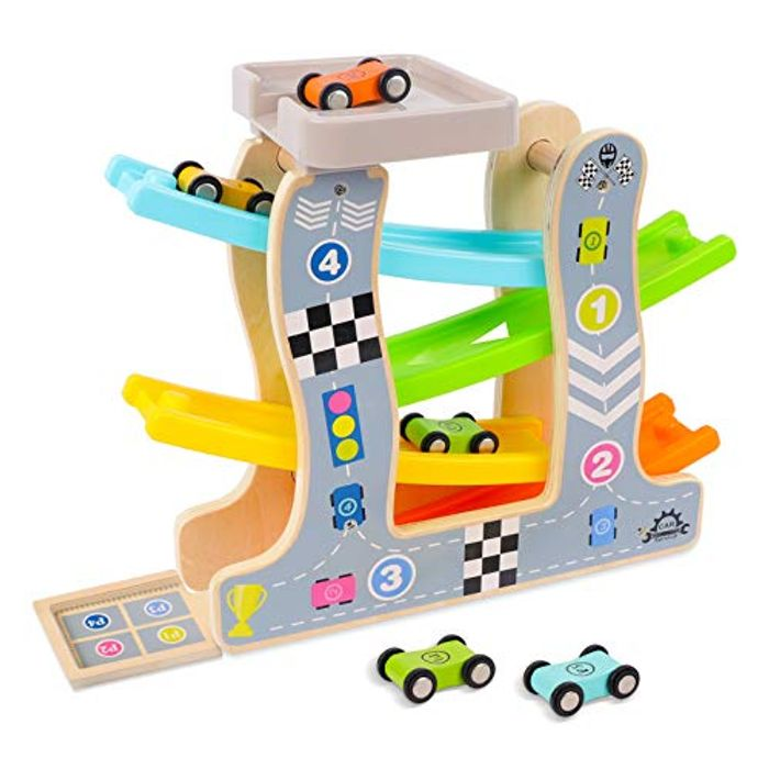 DEAL STACK - STOTOY Car Ramp Toys for Boys + 5% Coupon