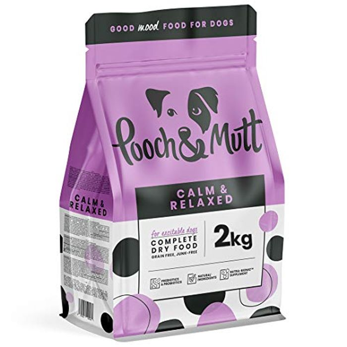 Pooch & Mutt - Complete Dry Dog Food - Calm & Relaxed
