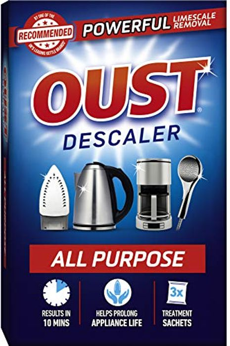 Oust Powerful All Purpose Descaler, Limescale Remover 3 Sachets