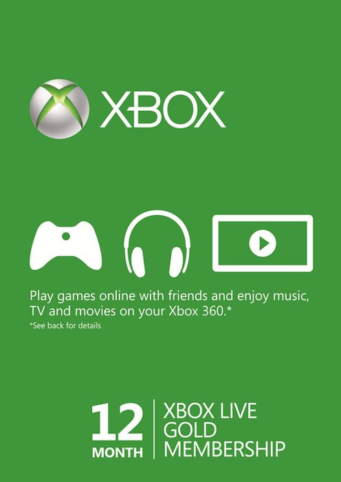 12 Months Xbox Gold - Stock up before Microsoft Price Hike