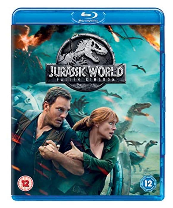 Jurassic World: Fallen Kingdom [Blu-Ray] [2018]