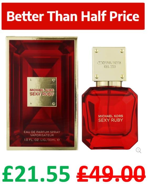 CHEAP! Michael Kors Sexy Ruby Eau De Parfum Spray 30ml