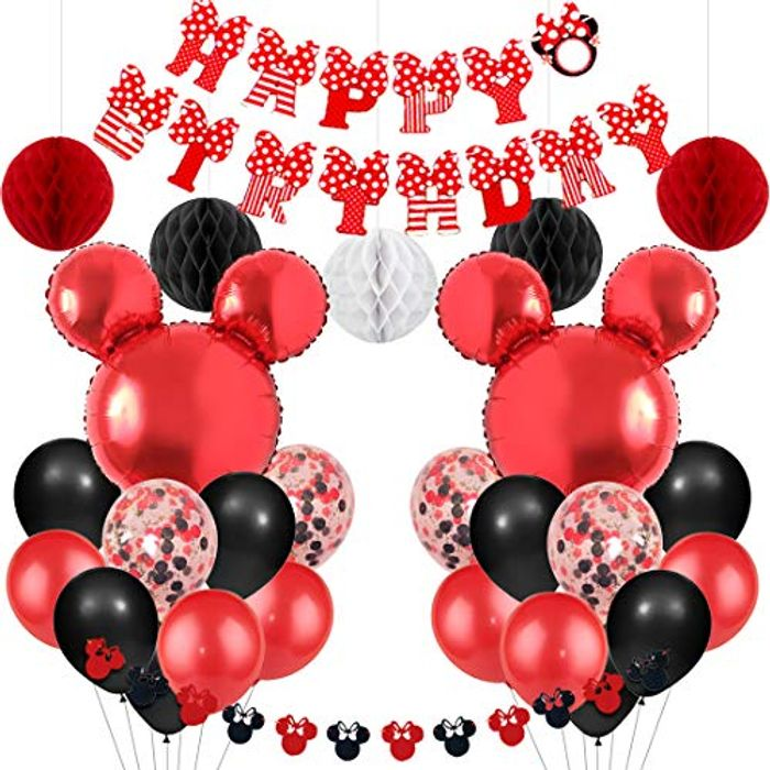 Mickey and Minnie Themed Party Supplies