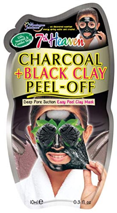 7th Heaven Charcoal and Black Clay Peel off Mask
