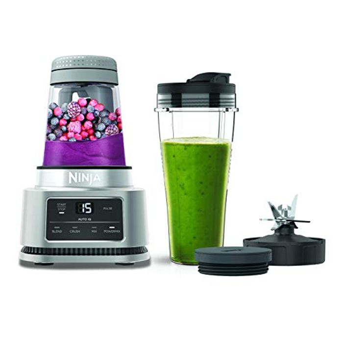 Ninja Foodi Power Nutri Blender 2-in-1, 1100W Silver