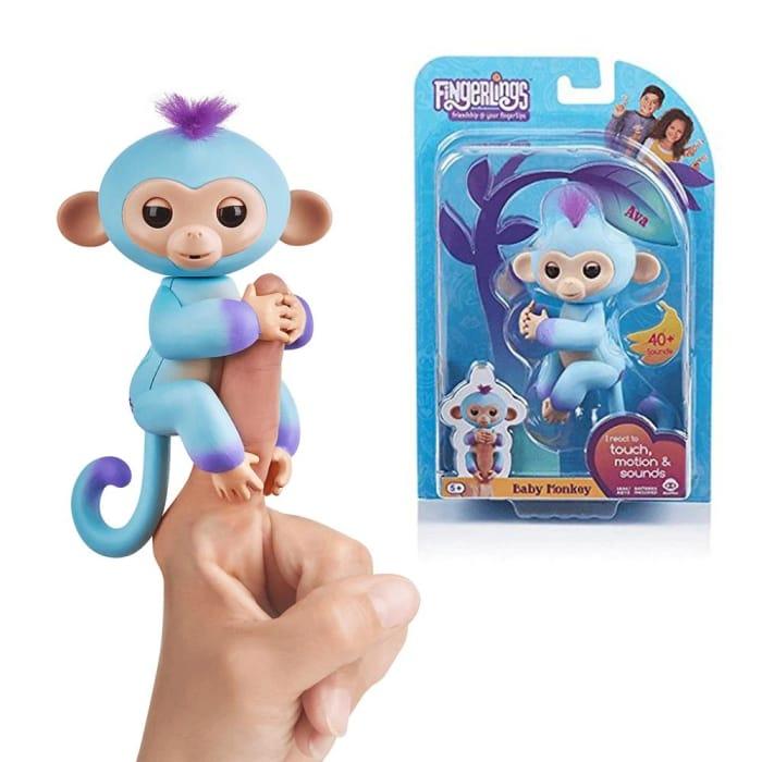 Fingerlings Baby Monkey Ava WowWee Interactive Pet