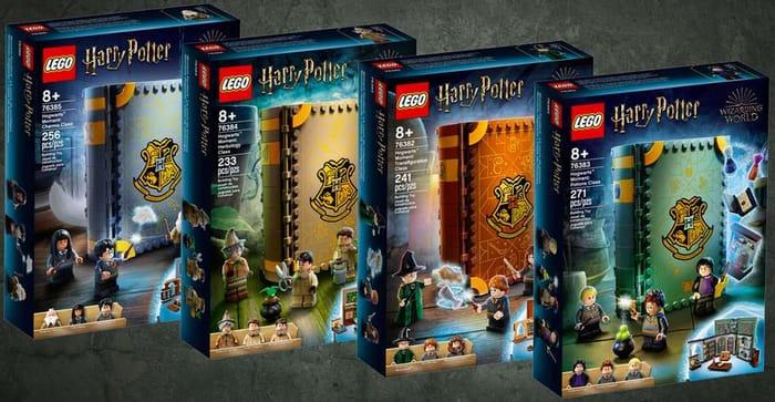 LEGO Harry Potter Hogwarts Moments Bundle - Only £95.89!