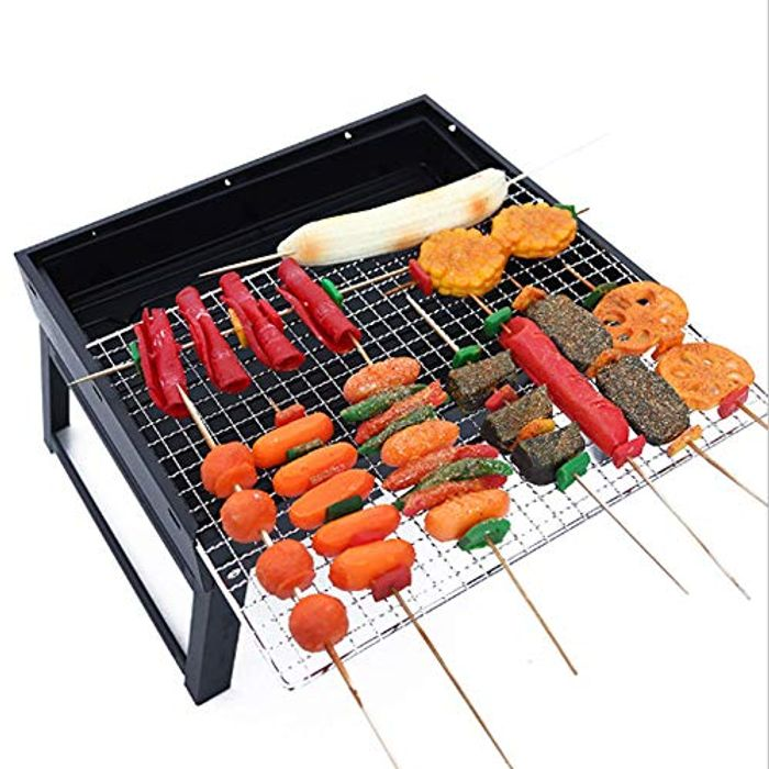 Portable Barbecue Grill Foldable - Only £6.6!
