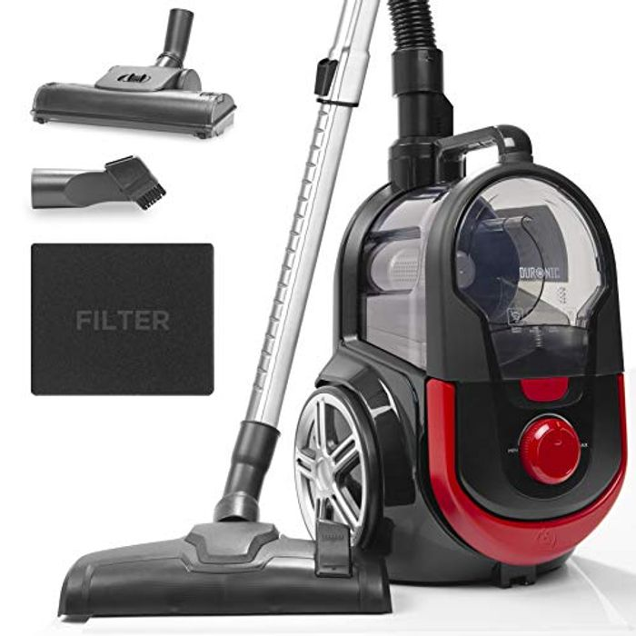 Duronic Bagless Cylinder Vacuum Cleaner VC7020 [Energy Class A+]