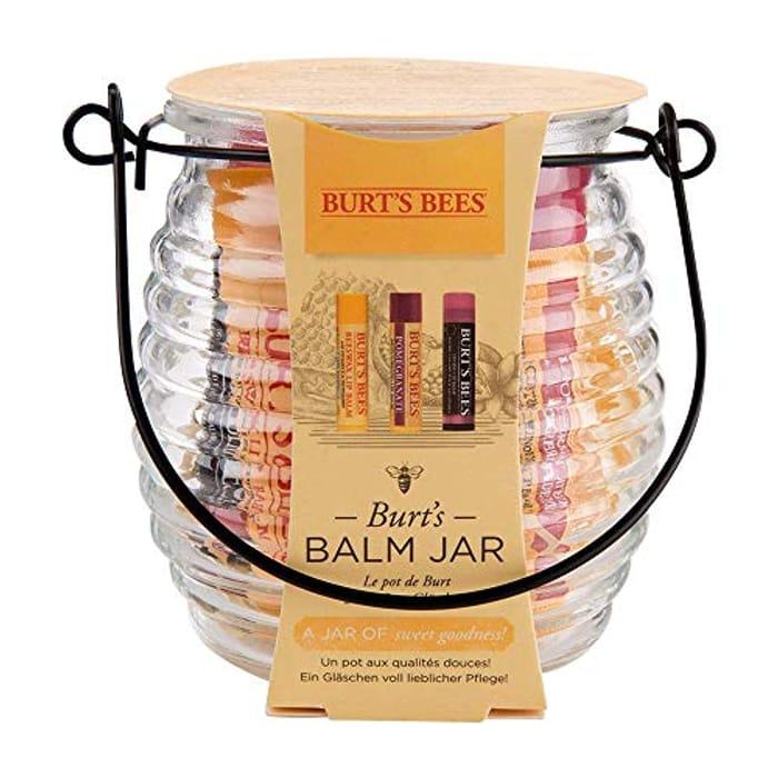 Burt's Bees Balm Jar Moisturising Gift Set Min Order 2