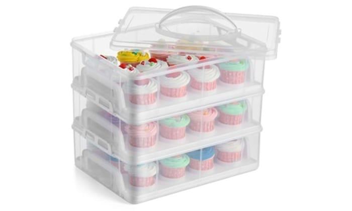 3 Tier Cupcake Carrier