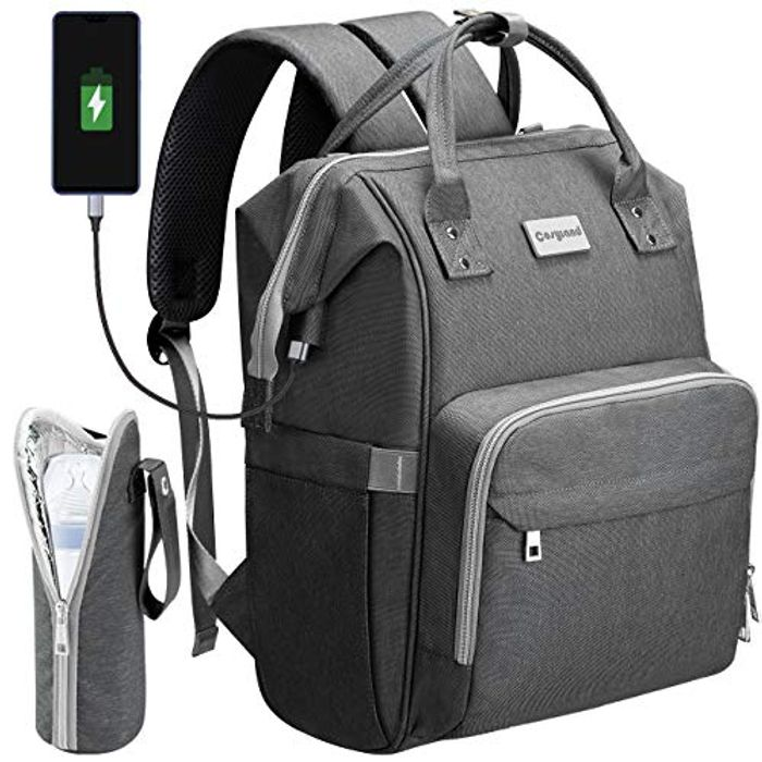 Cosyland Diaper Bag Backpack with USB Charging Port