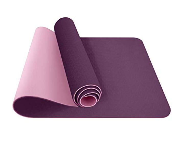ComFyMat Yoga Mat Non-Slip Premium TPE Yoga Mat [Bonus Waterproof Carry Bag]