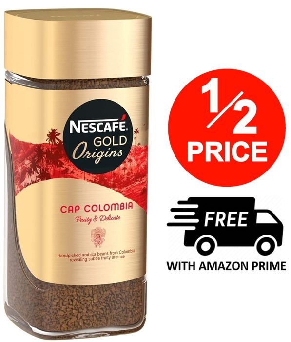 HALF PRICE TODAY! NESCAFE GOLD - Cap Colombia 100g