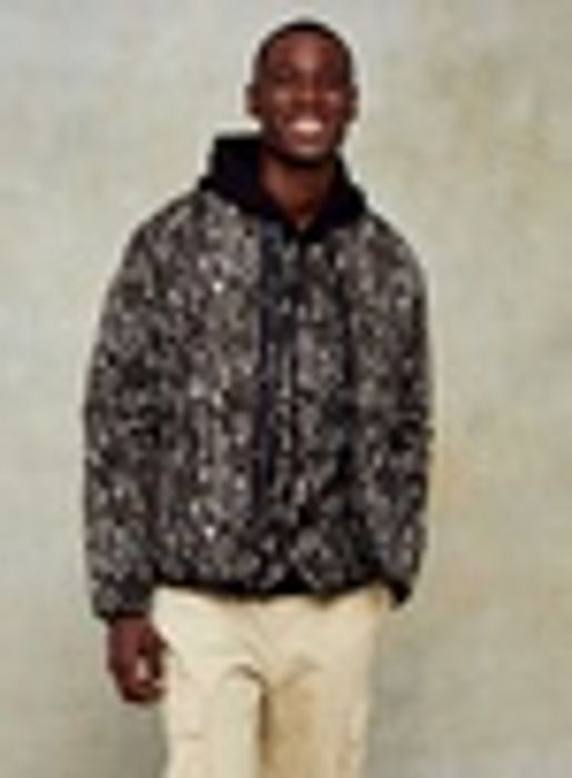 Camouflage Quilted Liner Jacket