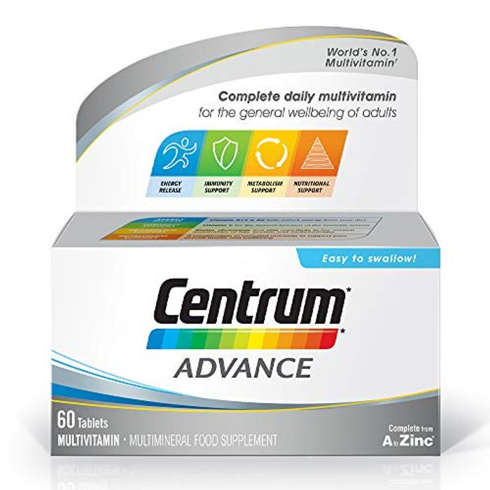 Centrum Advance Multivitamins and Minerals Tablet with £4.5 off Coupon