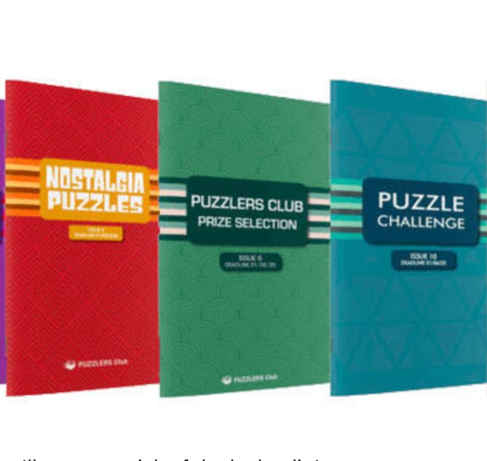 2 Free Puzzle Books - Just £1.99 P&P