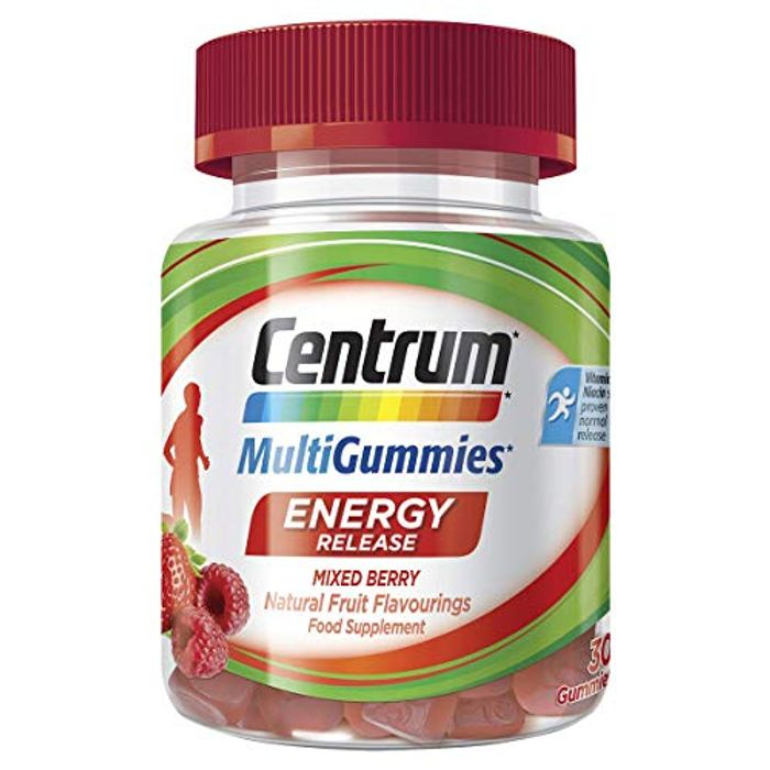 Centrum Multigummies Energy Release 30 Gummies with £3.25 off Coupon
