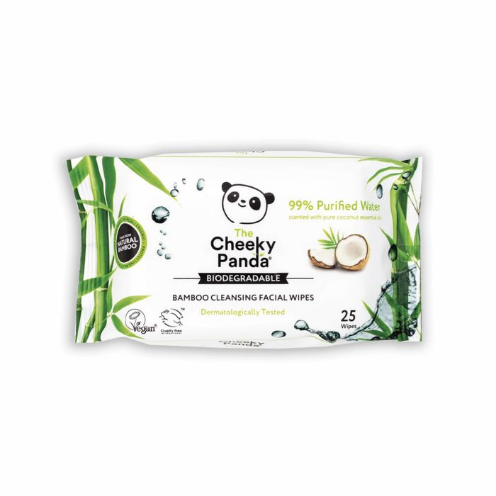 10% off Facial Cleansing Wipes from Cheeky Panda