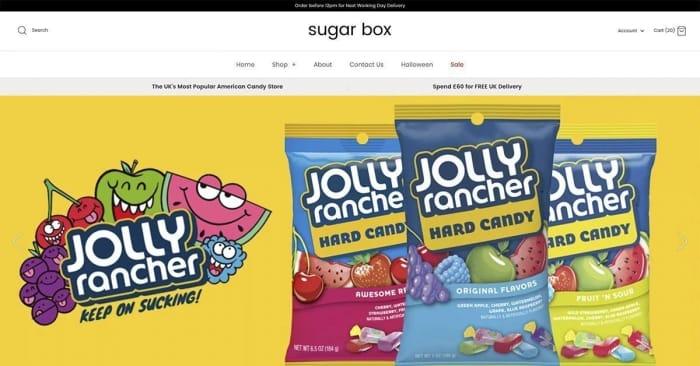 10% off at Sugar Box UK
