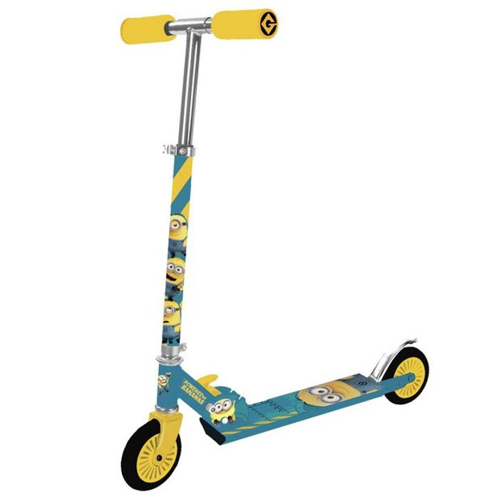 Minions Folding Inline Scooter