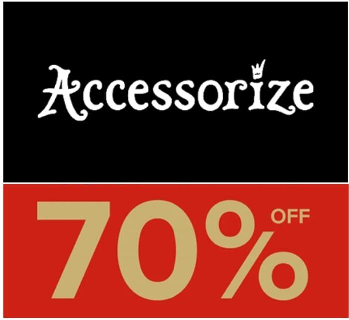 ACCESSORIZE - ALL SALE 70% OFF