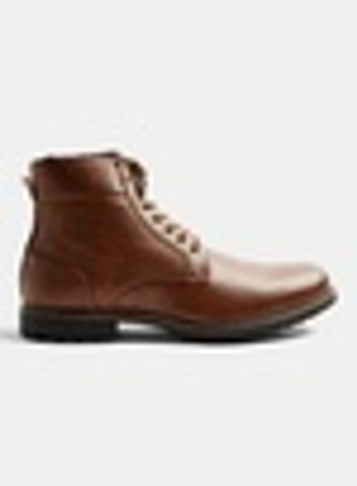 Tan Harry Worker Boots