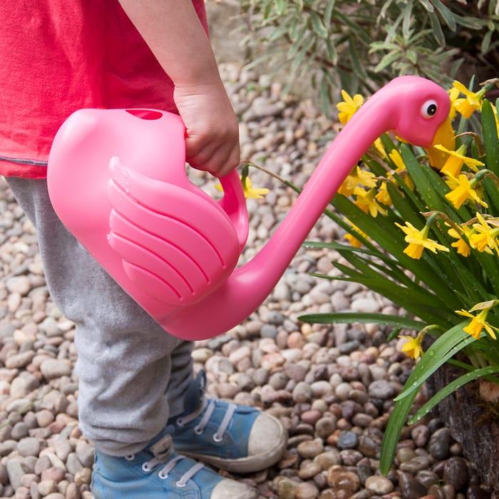 Cute Flamingo Watering Can
