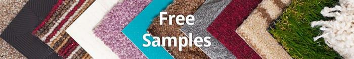 Free Carpet, Vinyl Flooring and Artificial Grass Samples