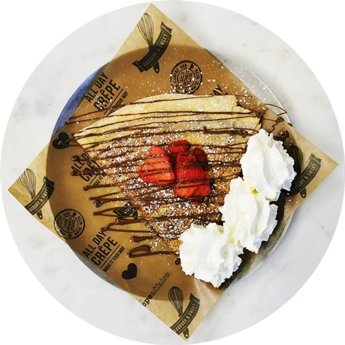 Free Birthday Crepe When You Download Crepeaffaire App