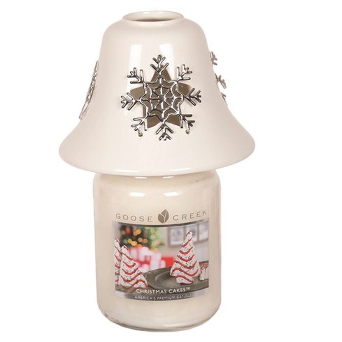 Snowflake Candle Shade down to £2.99