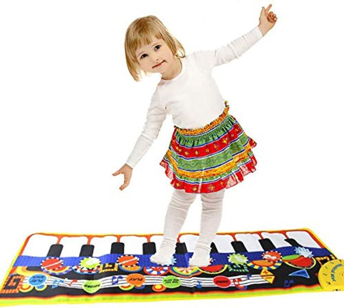 Kids Piano Keyboard Play Mat - Only £8.42!