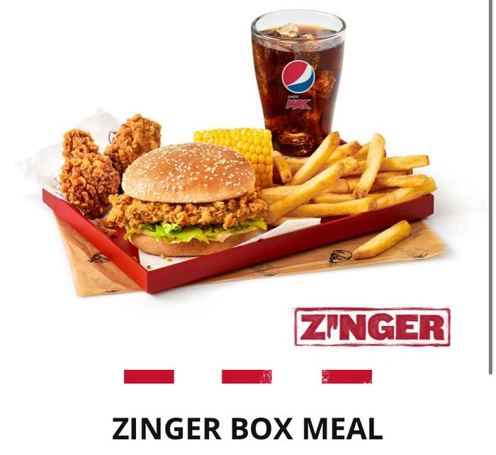 2 Zinger Box Meals for £10 Instore at KFC with the App