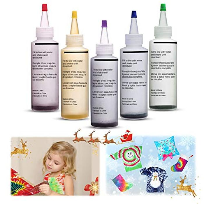 Tie-Dye Paints Kit Only £7.64 (Prime Delivery)
