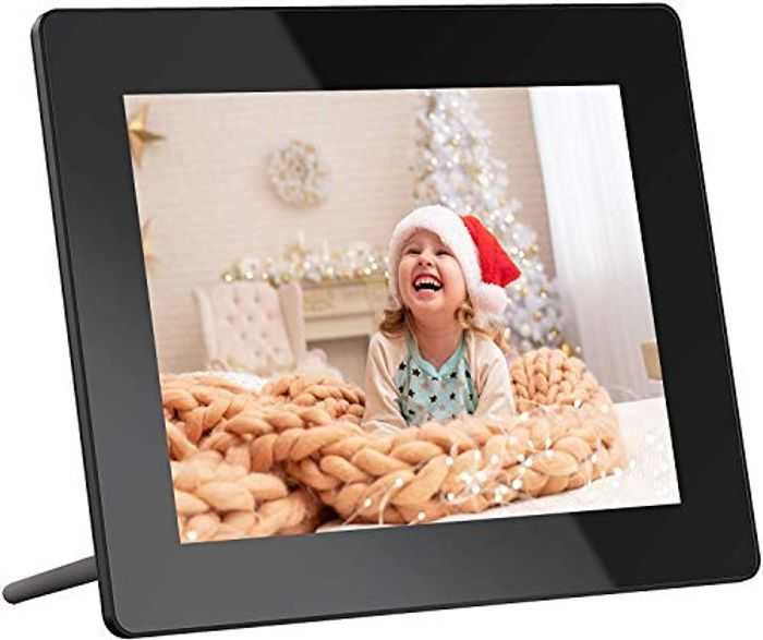Deal Stack! Dragon Touch WiFi Digital Photo Frame 8 Inch